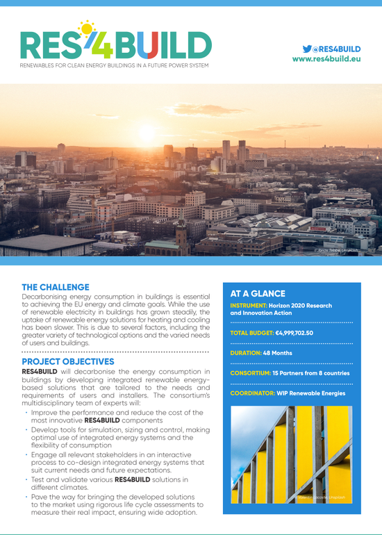 RES4BUILD Introductory Factsheet