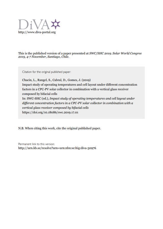 SWC2019 Proceedings #1